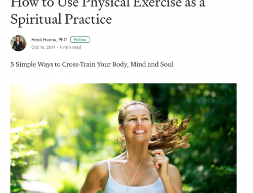 Exercise As Spiritual Practice
